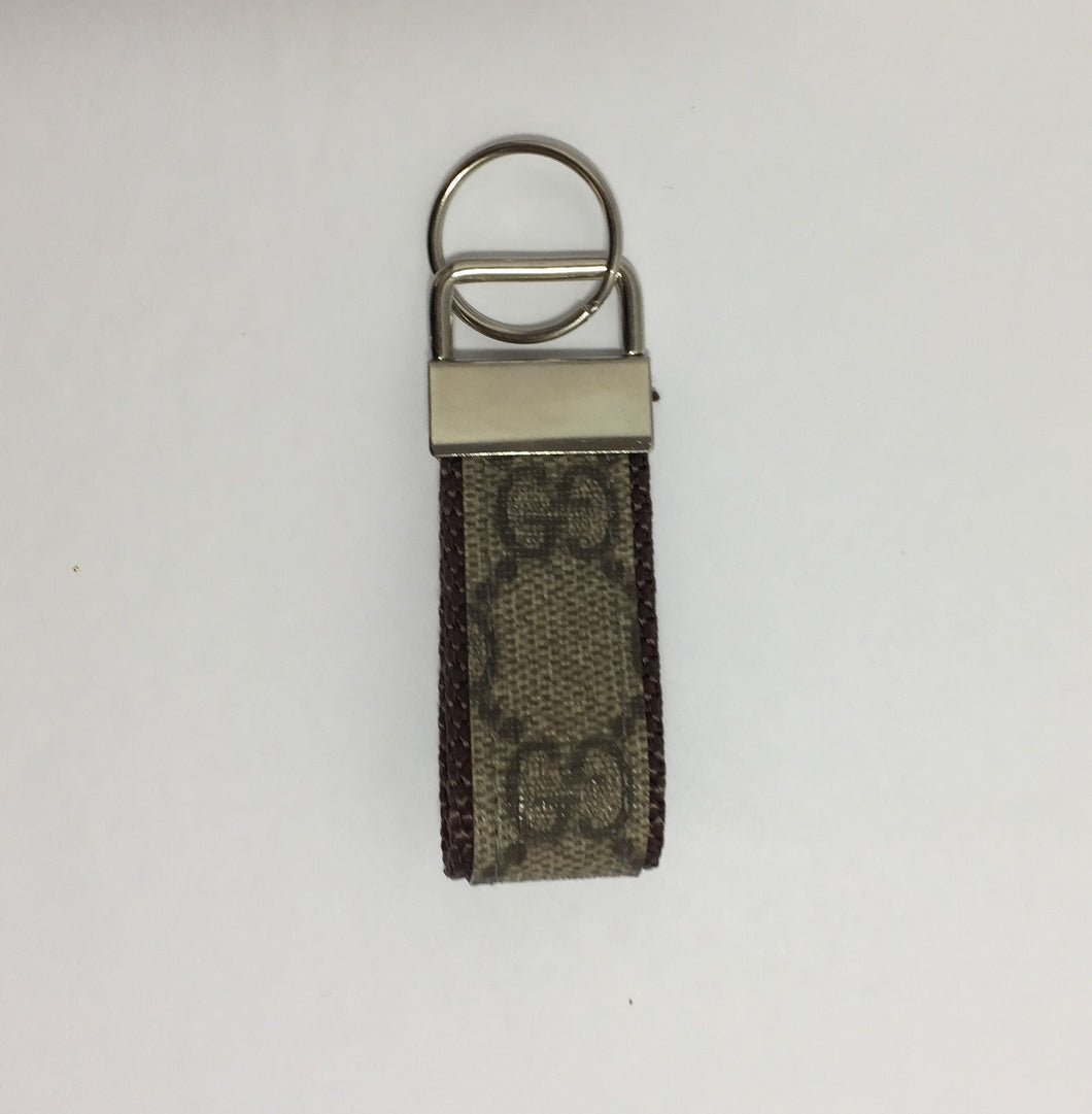 The Classic GUCCI Upcycled Key Ring