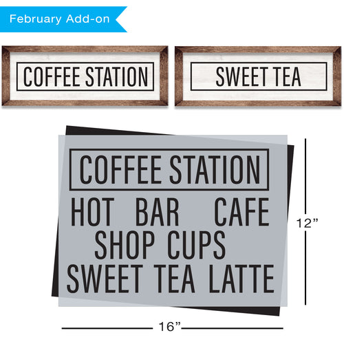 SOTMC - February 2020: Coffee Station by Sharon (add-on)