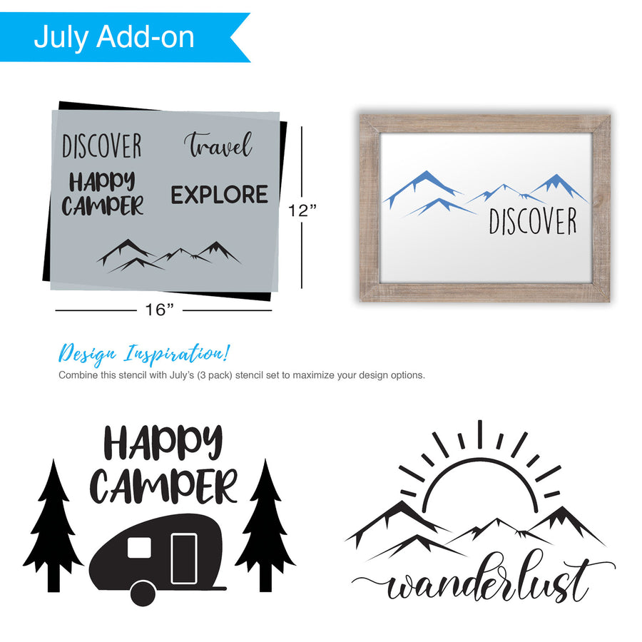 SOTMC - July 2020: Adventure Stencil by Heidi Easley (add-on)