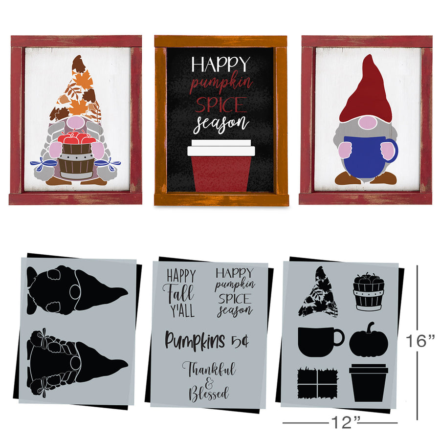 SOTMC - October 2020: Gnome Stencil Set by Carol Czerwinski