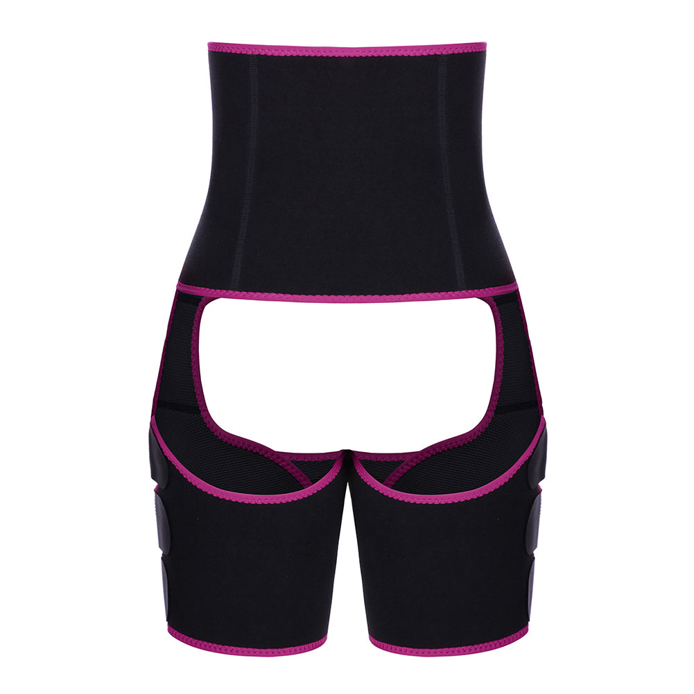 Neoprene Women Body Shapewear Leg Shapers Slimming Belt Waist