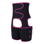 Load image into Gallery viewer, Neoprene Women Body Shapewear Leg Shapers Slimming Belt Waist