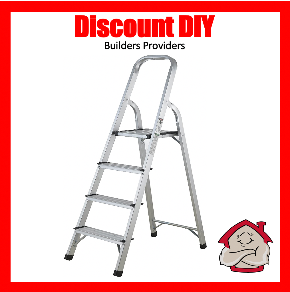 4 Step Aluminum Ladder