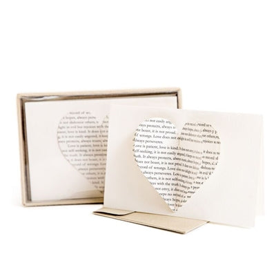Heart Cards And Envelopes - Adored A Lovely Boutique