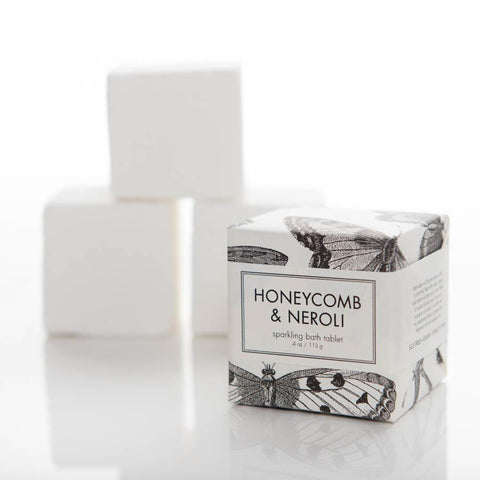 Sparkling Bath Tablet - Honeycomb & Neroli - Adored A Lovely Boutique