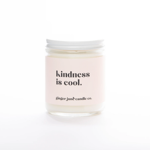 Kindness is Cool Candle - Adored A Lovely Boutique