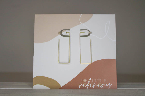 Pisa Rectangle Earrings