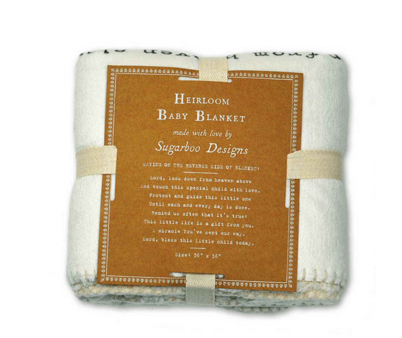 Lord look down baby blanket adored boutique