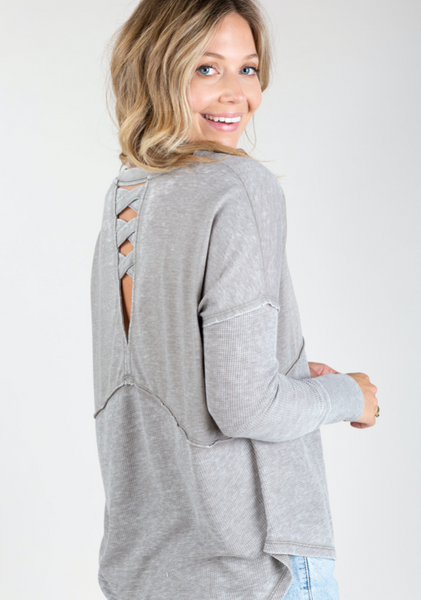 Long Sleeve V-Neck Thermal