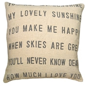 You Are My Sunshine Pillow - Adored A Lovely Boutique