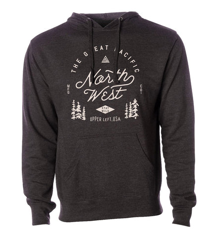 Men's Survey Hoodie - Adored A Lovely Boutique