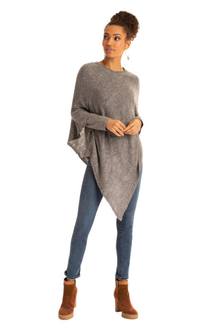 The V-Neck Poncho - Adored A Lovely Boutique