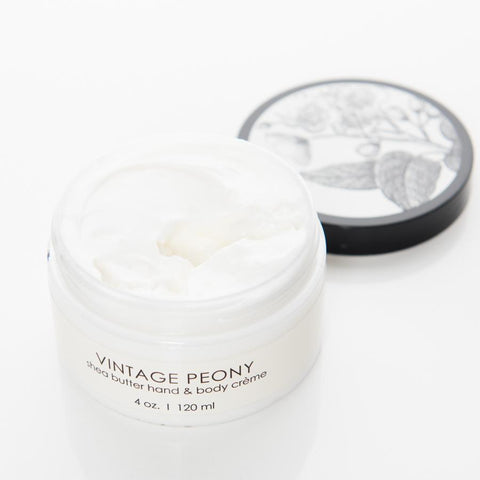 Shea Butter Creme - Vintage Peony - Adored A Lovely Boutique