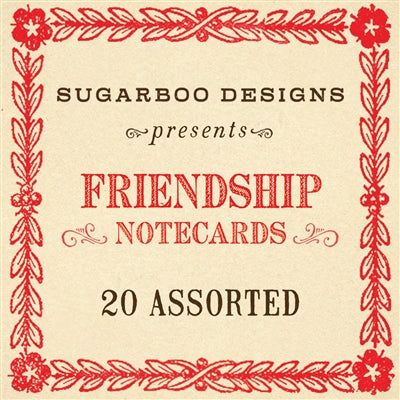 Love, Friendship and Birthday Notecards