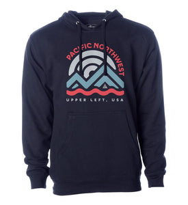 Men's Upper Left USA Hoodie