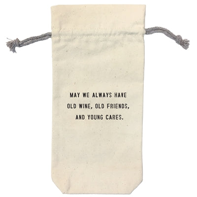 May we always shine wine bag