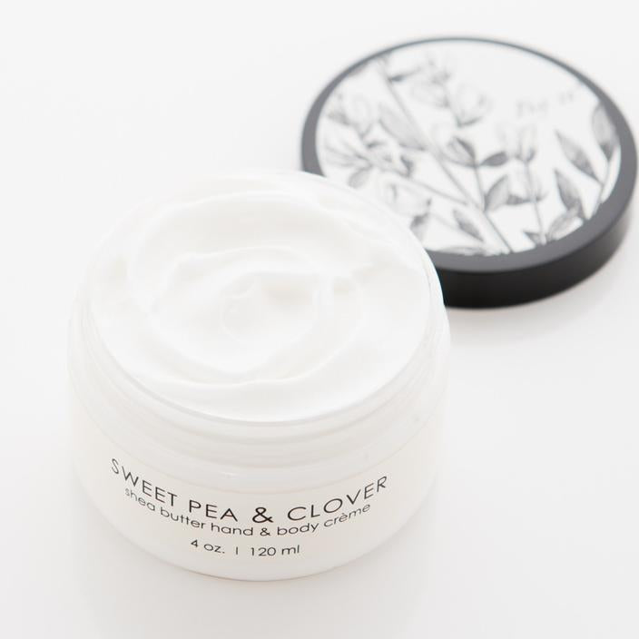 Shea Butter Creme - Sweet Pea & Clover