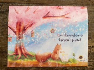 Note Card #3: Love Blooms
