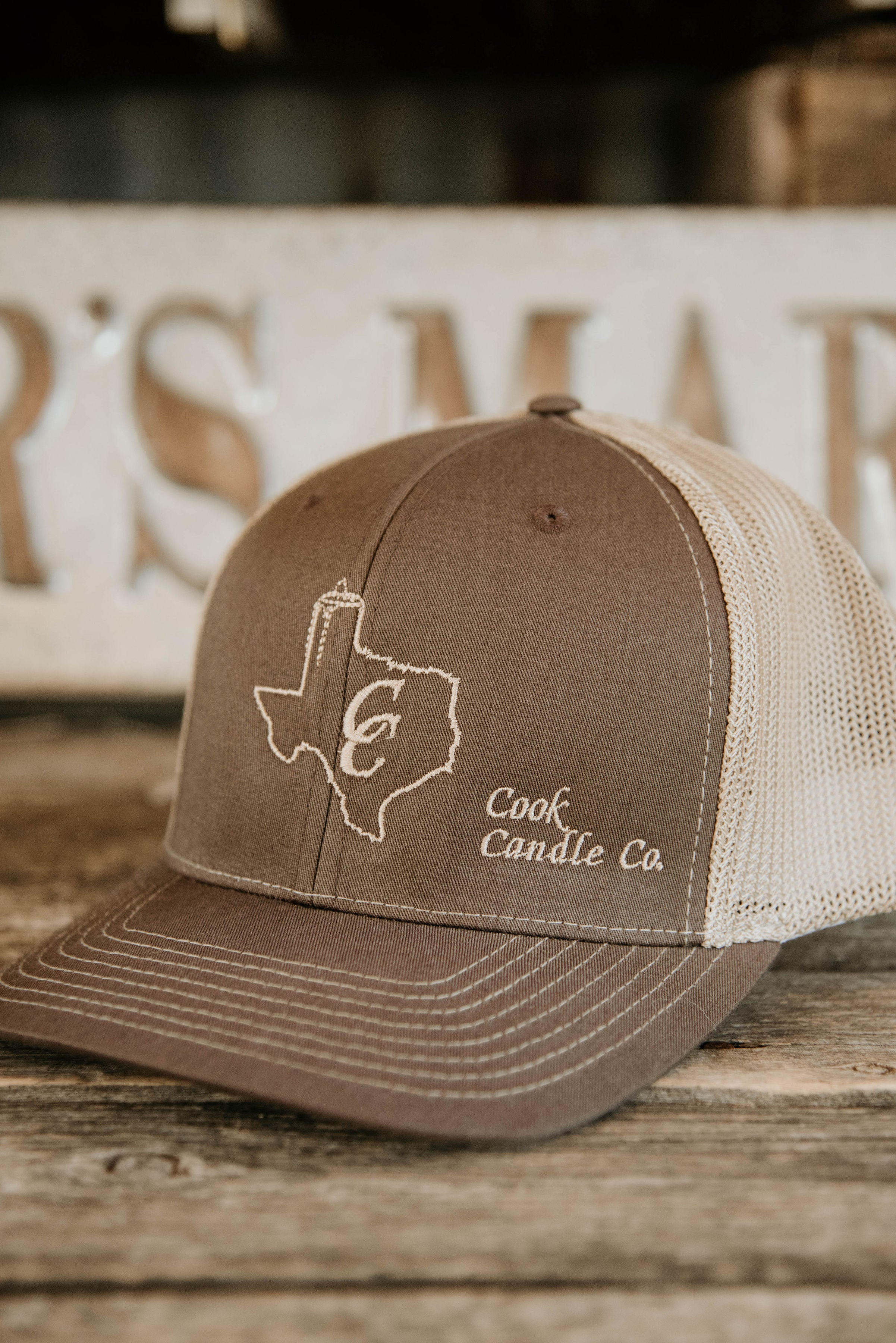 Brown & Khaki Hat