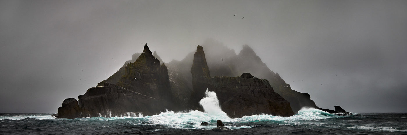 "Photographs from ""The Skelligs"""