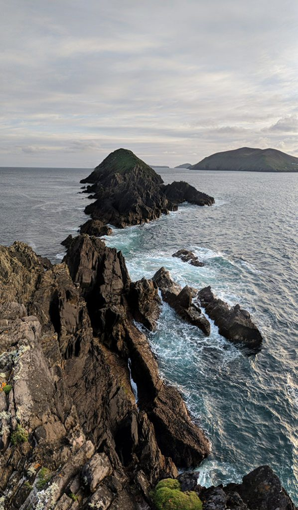 Dunmore Head Pano by Peter Cox