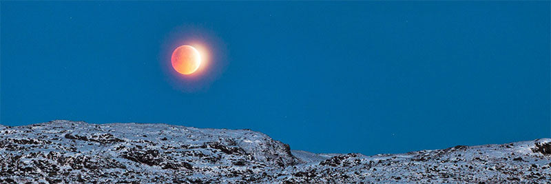 Lunar eclipse, Ballingeary, Co. Cork