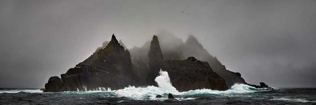 Little Skellig in the Raging Atlantic
