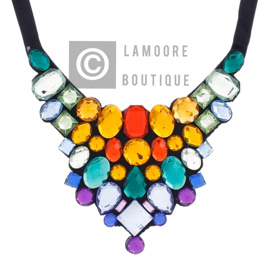 Julie Multi-stone necklace
