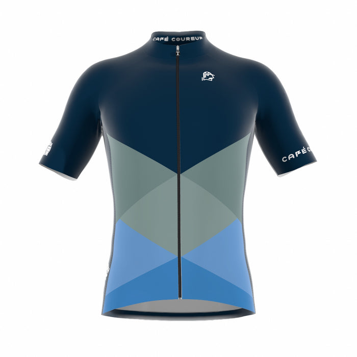 PRE-ORDER Iconic Navy Blue Men's Short Sleeve Jersey