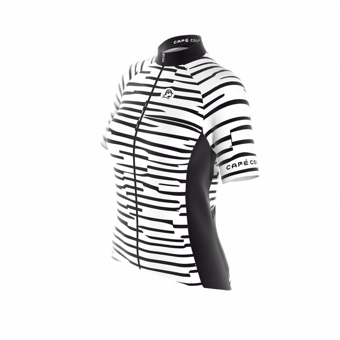 Cipo White & Black Women's Short Sleeve Jersey