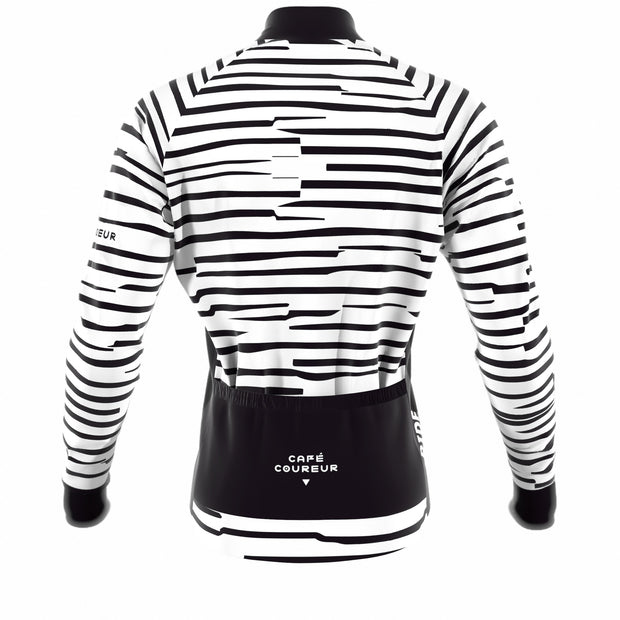Cipo White & Black Women's Jacket