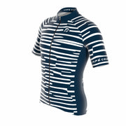 Cipo Navy Blue Men's Short Sleeve Jersey