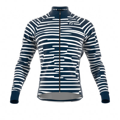 Cipo Navy Blue Women's Jacket