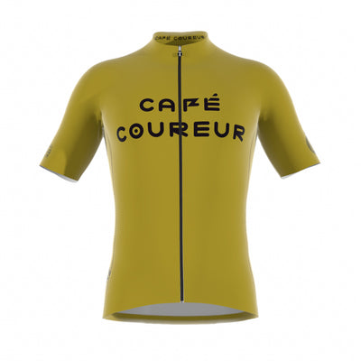 Intermission Ochre Mustard Men's Short Sleeve Jersey