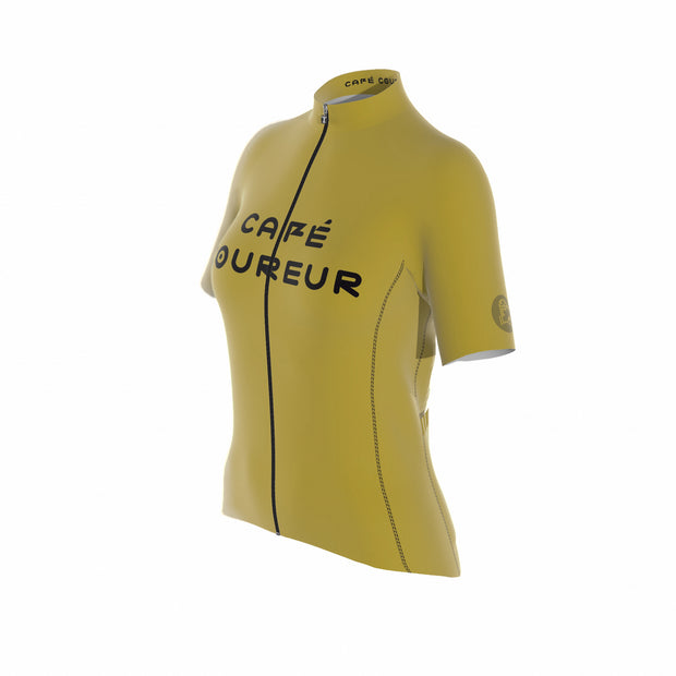 Intermission Ochre Mustard Women's Short Sleeve Jersey