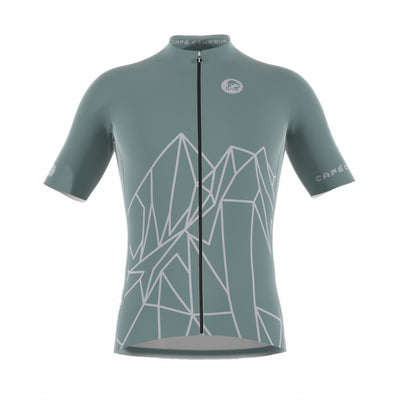 Ride More Dusty Green Men's Short Sleeve Jersey