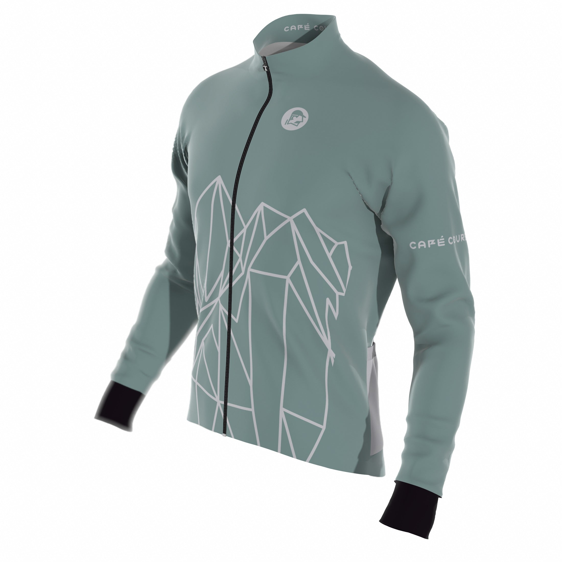 PRE-ORDER Ride More Dusty Green Men's Jacket