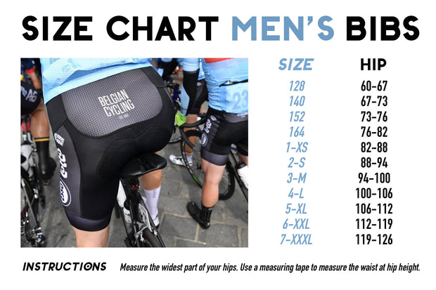 Iconic Black Men's Bib Shorts