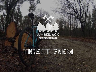 Lumberjack Gravel Ride, Summer Edition - 75k ticket
