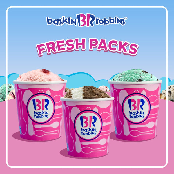 Baskin Robbins Fresh Packs - Quart