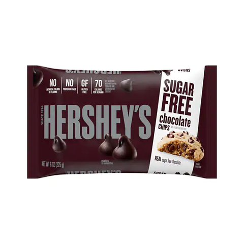 Hershey's Sugar Free Semi-Sweet Chocolate Chips