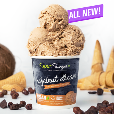Super Scoops Dairy-Free Vegan Ice Cream Pints