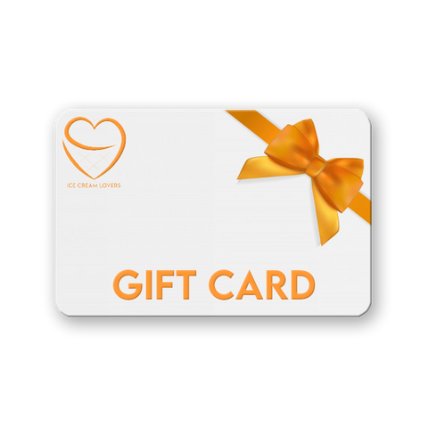 Ice Cream Lovers Gift Card