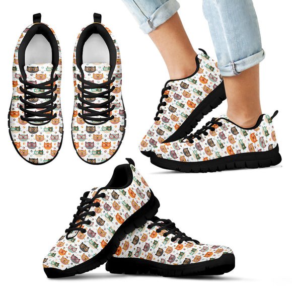 Cute Cats Kid's Sneakers
