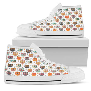 Cute cats Men's High Top
