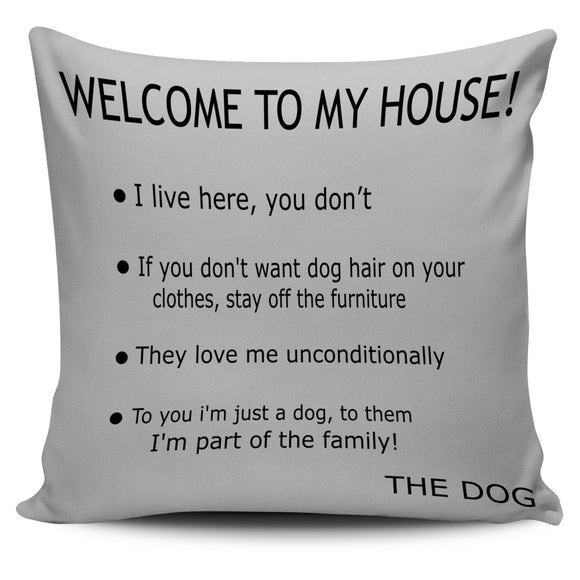 Dog's House Pillow Cover