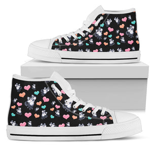 Snow Dog High Tops Womens