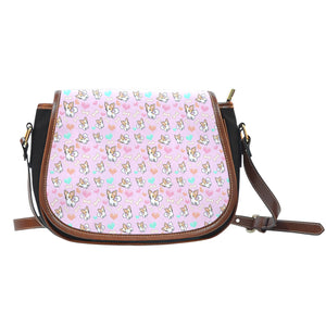 Chihuahua Dog Lovers Canvas Saddle Bag