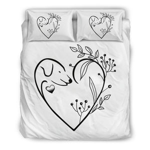 Dog Lovers Bed Set