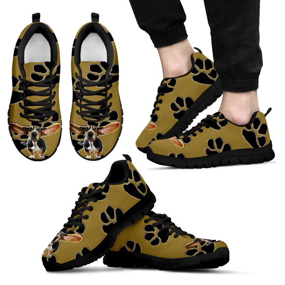 Dog and Paws Men's Sneakers